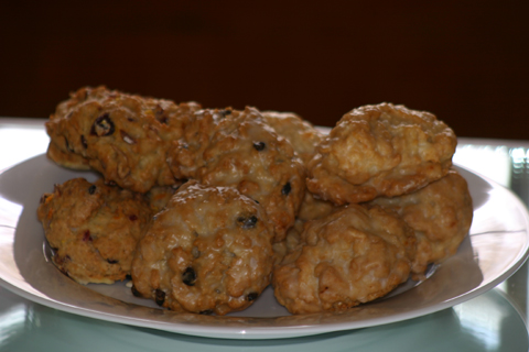 just looking at the our scones gets your mouth watering